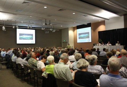 Audience at Adena Springs Ranch Piblic Forum